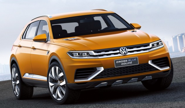 2018 Volkswagen New Compact Coupe Concept photo - 2
