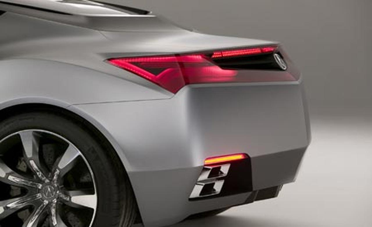 2019 Acura Advanced Sports Car Concept photo - 2
