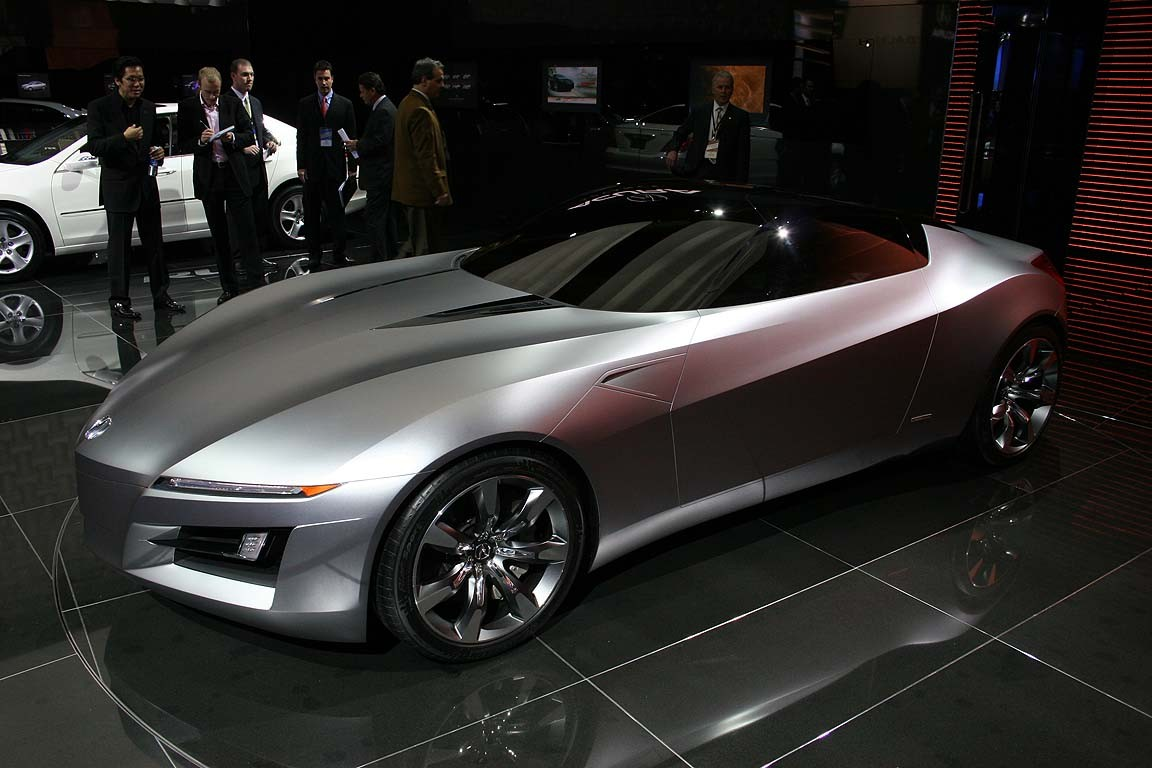 2019 Acura Advanced Sports Car Concept photo - 3