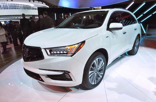 2019 Acura MD X Concept photo - 4