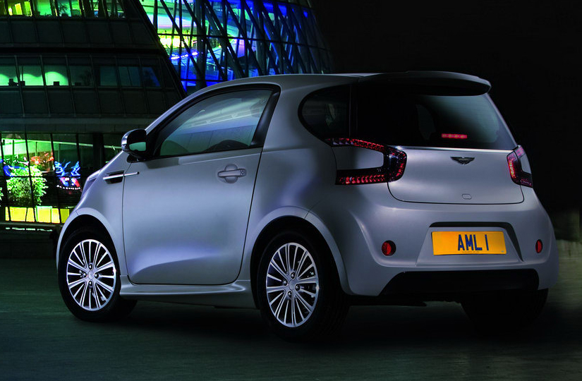 2019 Aston Martin Cygnet Concept photo - 1