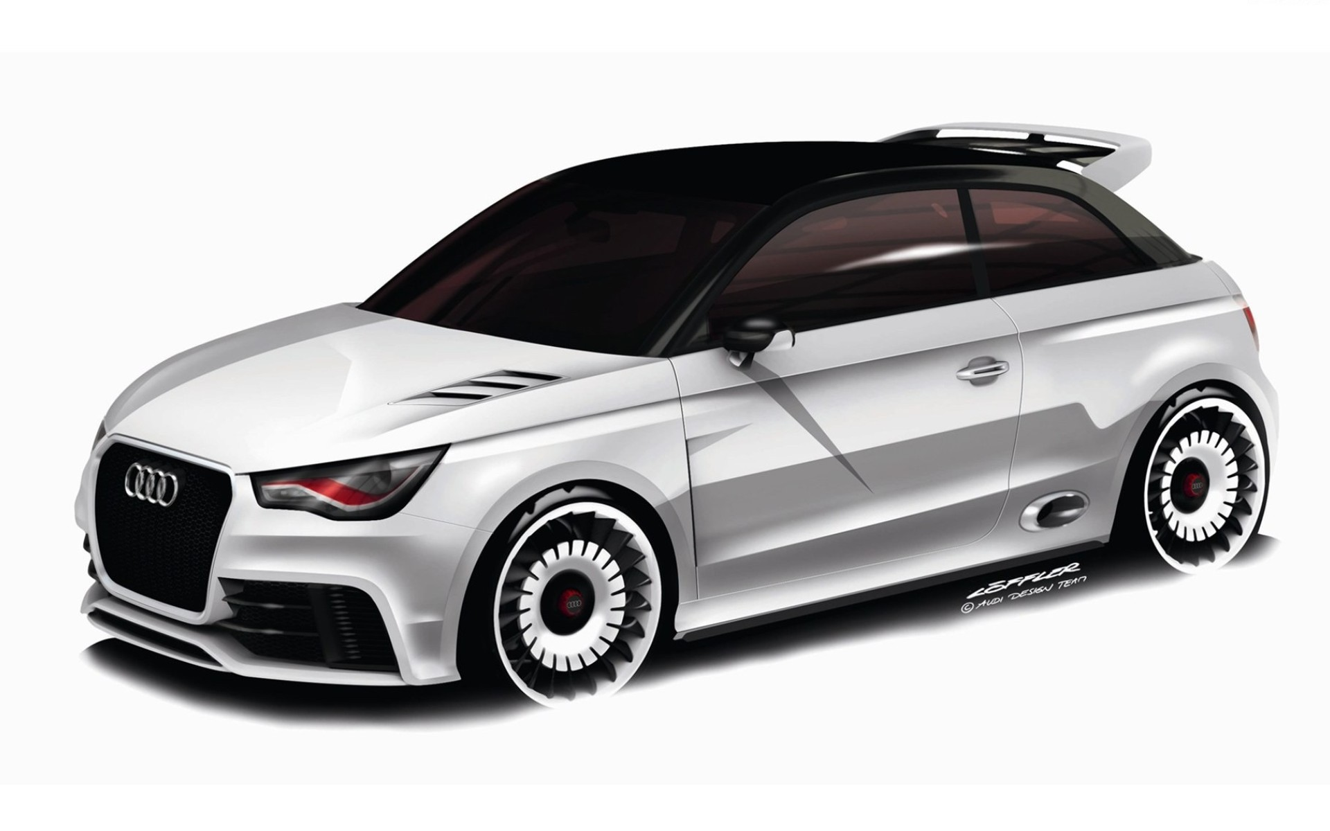 2019 Audi A1 clubsport quattro Concept photo - 3