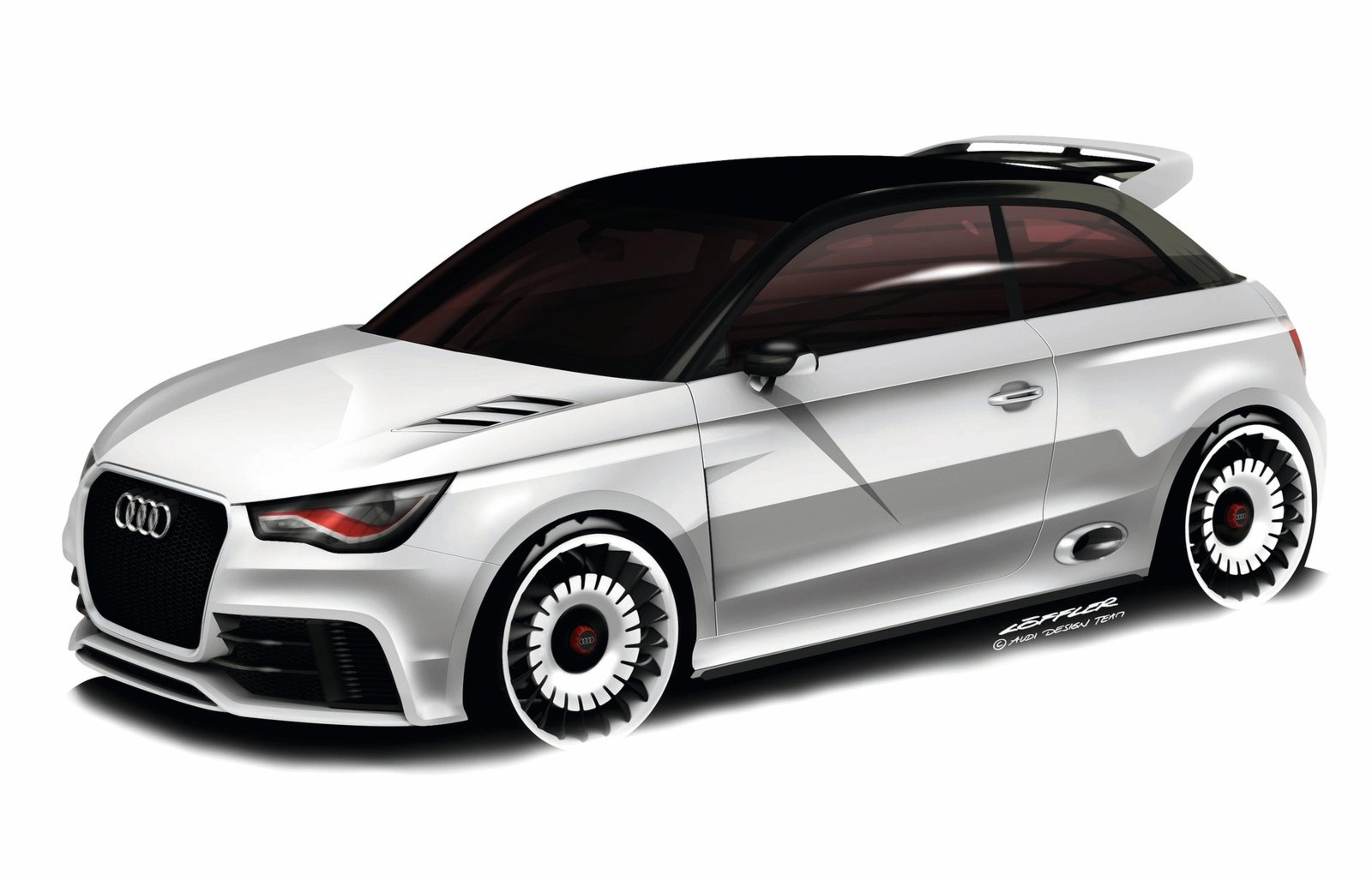 2019 Audi A1 clubsport quattro Concept photo - 5