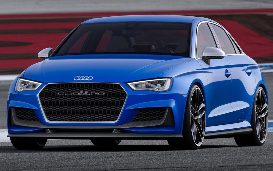 2019 Audi A3 Clubsport quattro Concept photo - 2