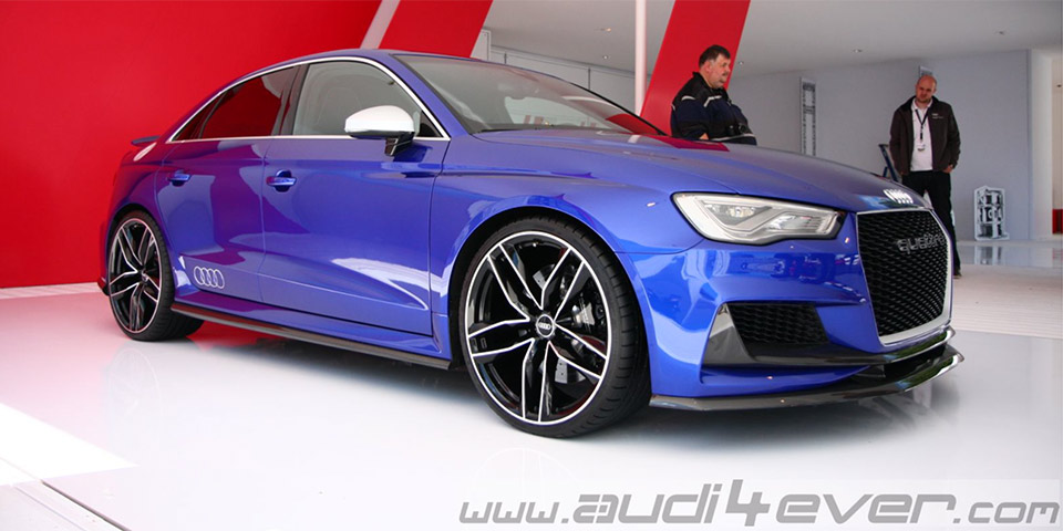 2019 Audi A3 TDI clubsport quattro Concept photo - 2