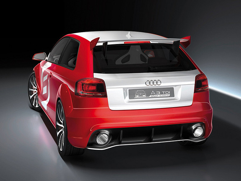 2019 Audi A3 TDI clubsport quattro Concept photo - 3