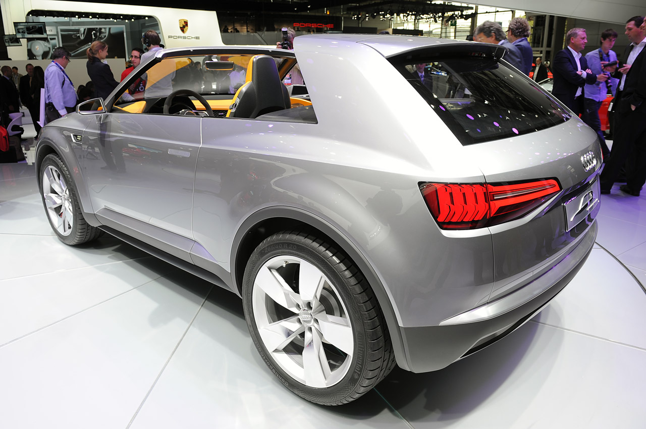 2019 Audi Crosslane Coupe Concept photo - 1