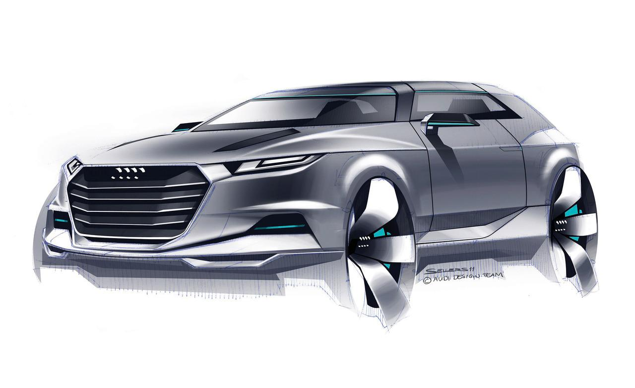 2019 Audi Crosslane Coupe Concept photo - 2