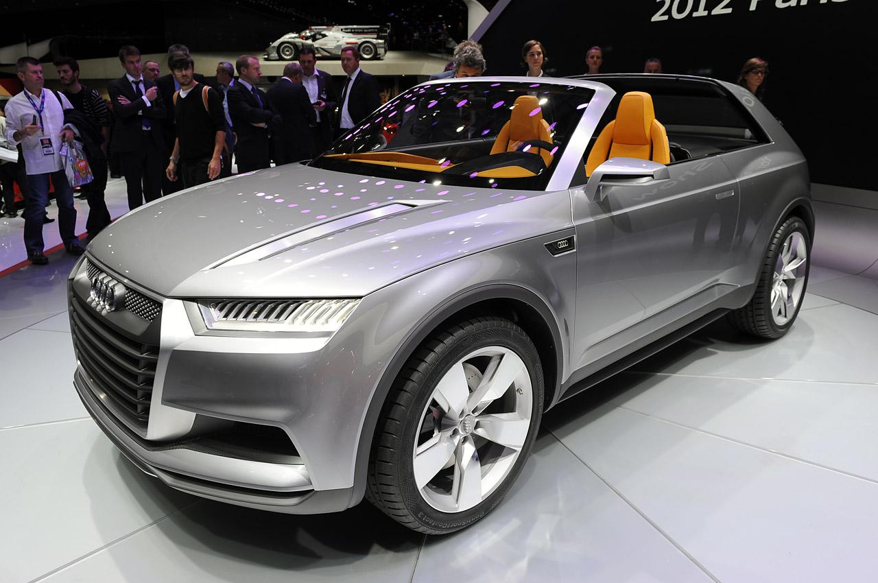 2019 Audi Crosslane Coupe Concept photo - 5