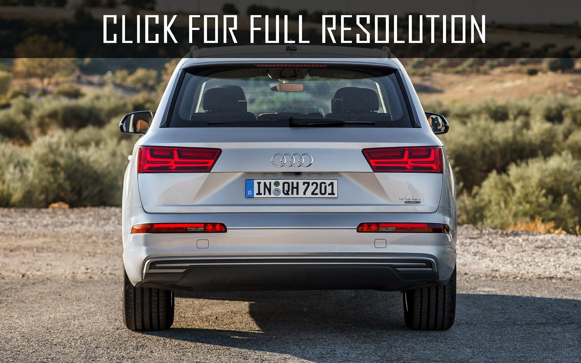 2019 Audi Q7 e tron 3.0 TDI quattro photo - 2