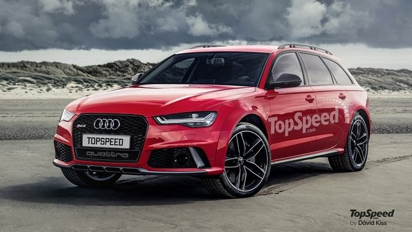 2019 Audi RS6 plus photo - 5