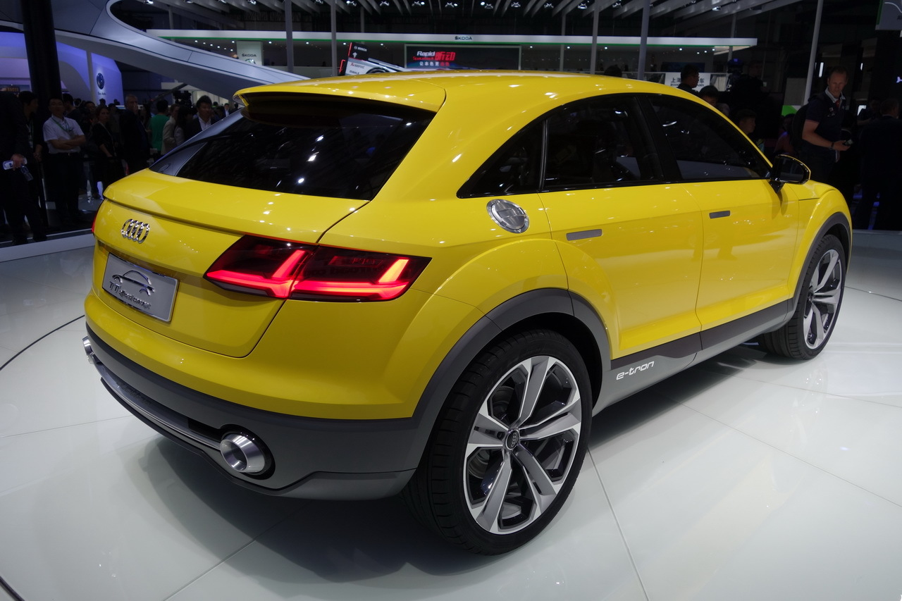 2019 Audi TT Offroad Concept photo - 1