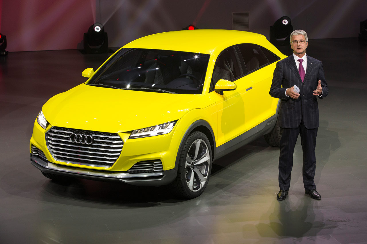 2019 Audi TT Offroad Concept photo - 2