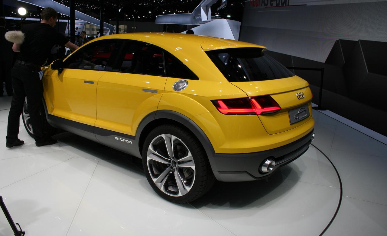 2019 Audi TT Offroad Concept photo - 5