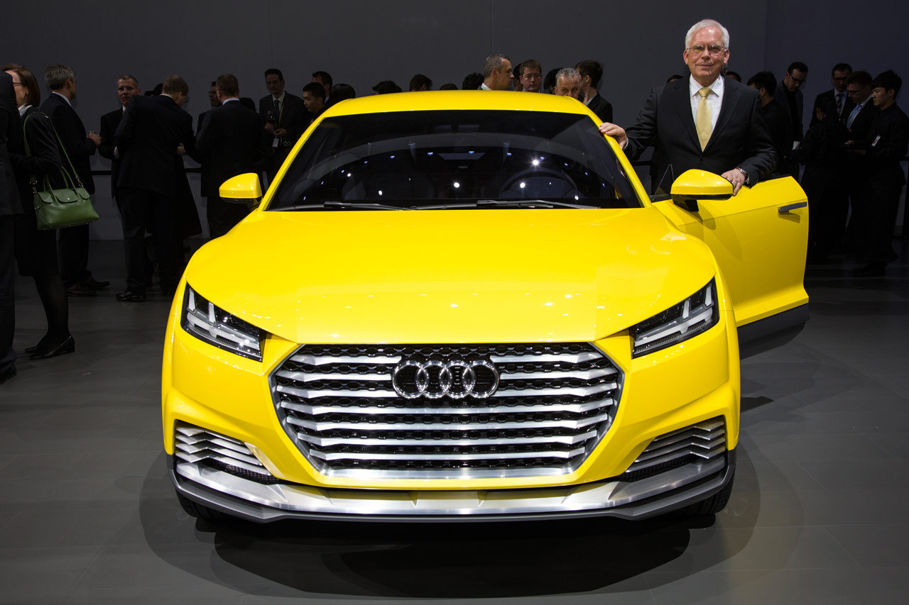 2019 Audi TT Offroad Concept photo - 6