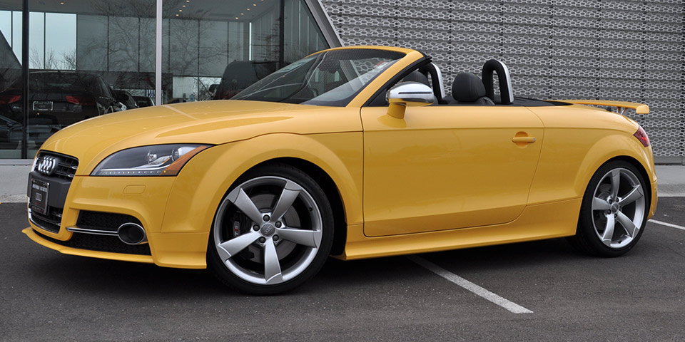 2019 Audi TTS Roadster competition photo - 6