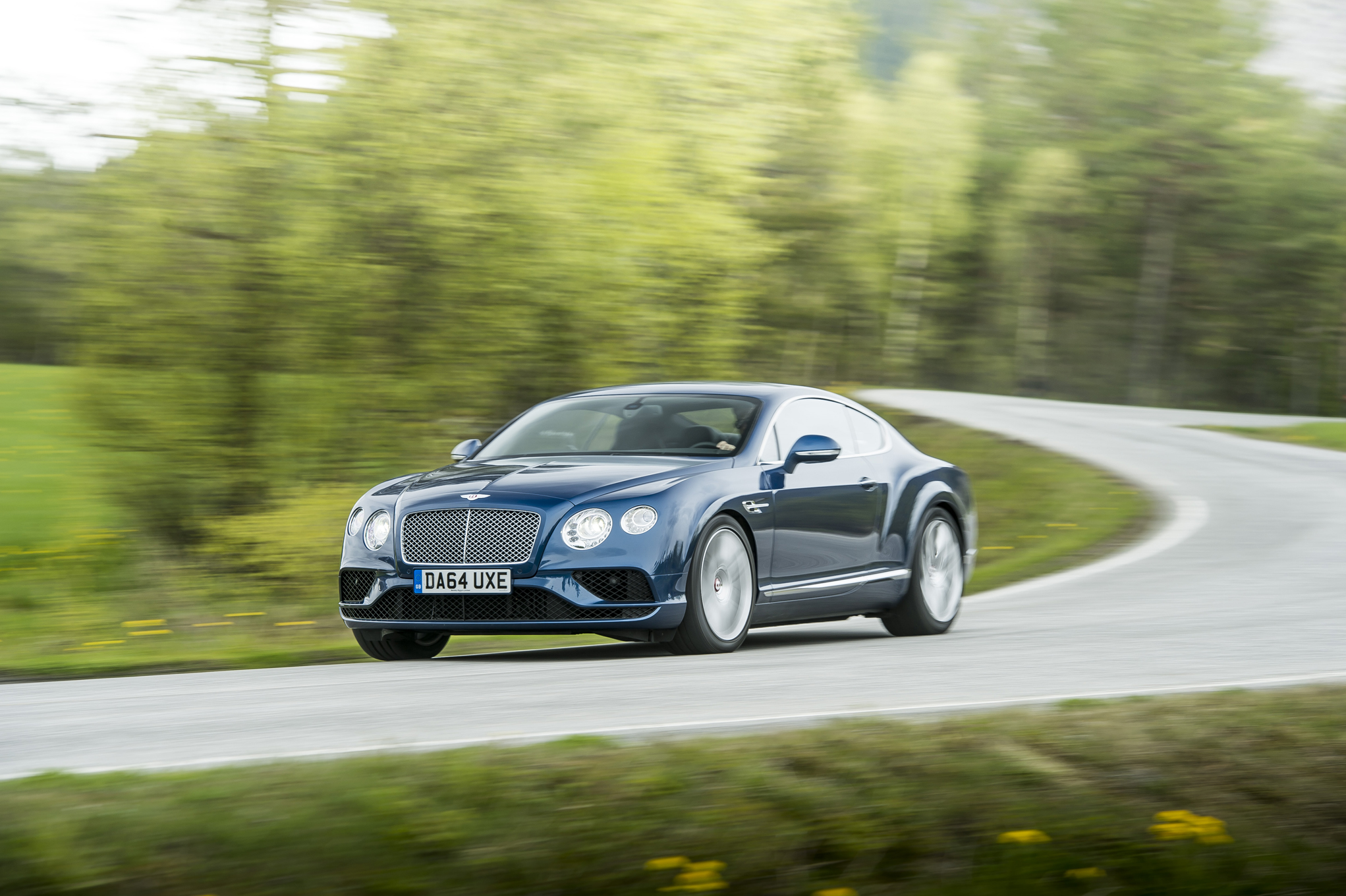 2019 Bentley Continental GT Prototype photo - 2