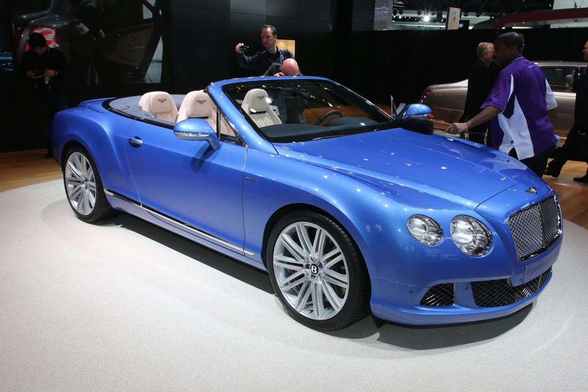 2019 Bentley Continental GT Speed Convertible photo - 1