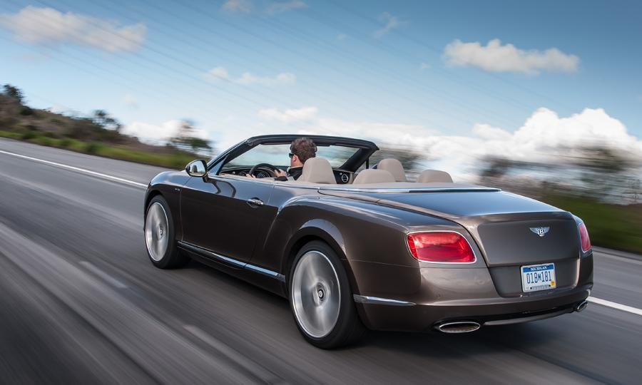 2019 Bentley Continental GT Speed Convertible photo - 2