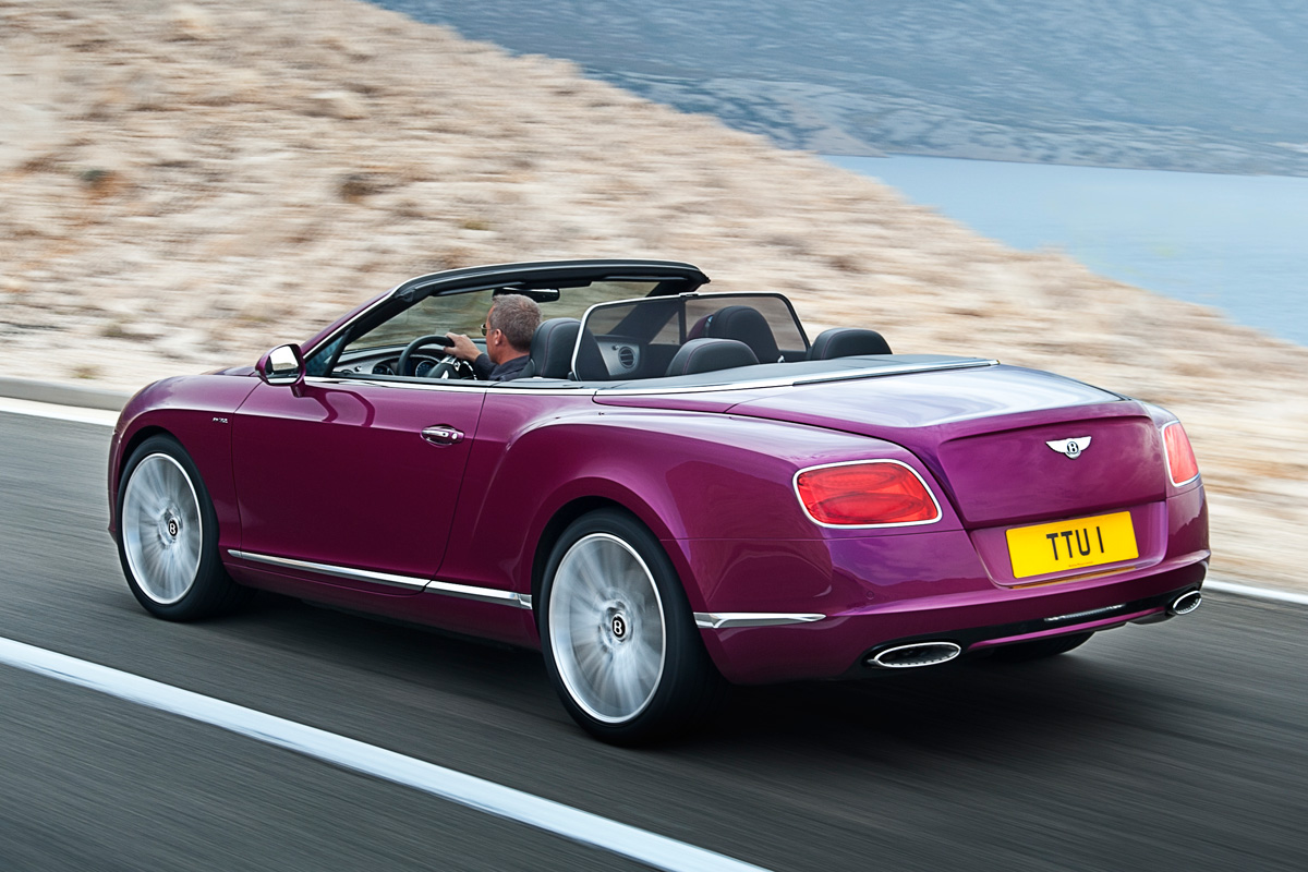 2019 Bentley Continental GT Speed Convertible photo - 3