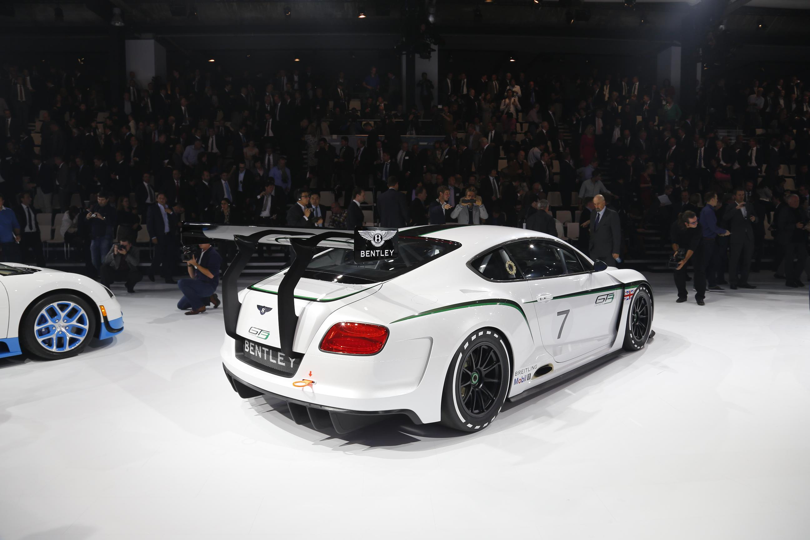 2019 Bentley Continental GT3 Concept photo - 3