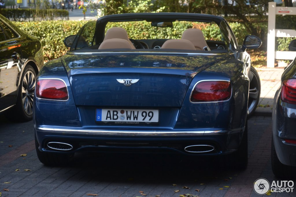 2019 Bentley Continental GTC Speed photo - 2