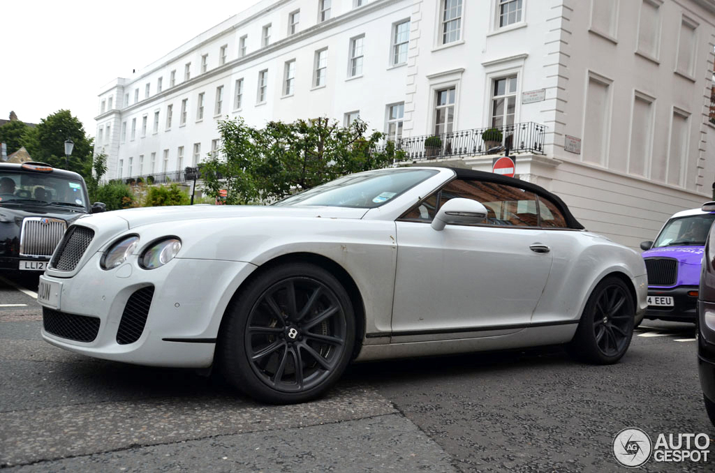 2019 Bentley Continental Supersports Convertible photo - 2