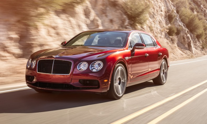 2019 Bentley Flying Spur V8 photo - 4