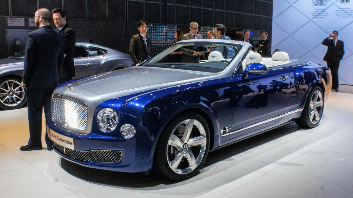 2019 Bentley Grand Convertible Concept Car Photos