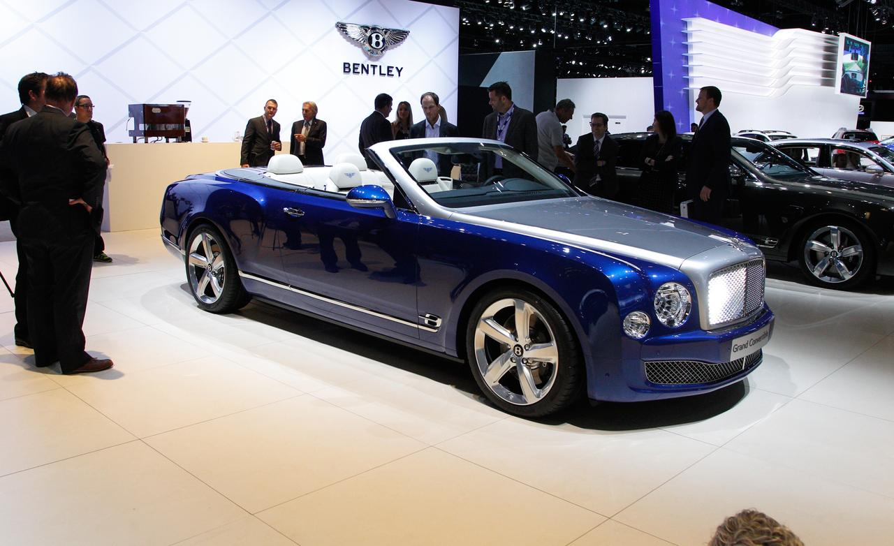 2019 Bentley Grand Convertible Concept Car Photos Catalog 2018