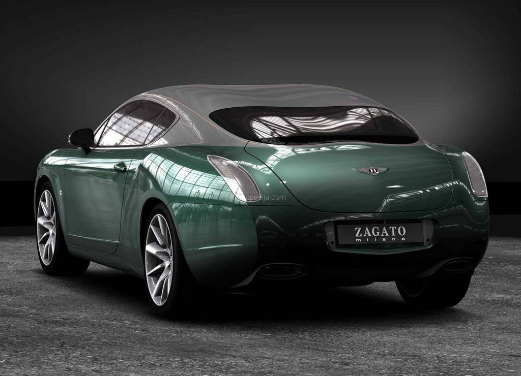 2019 Bentley GTZ Zagato Concept photo - 5