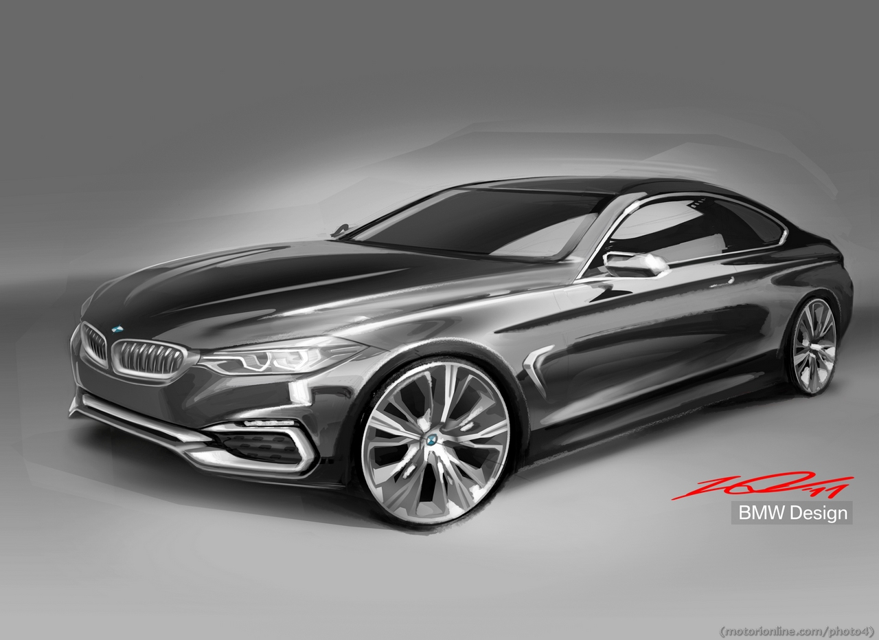 2019 BMW 4 Series Coupe Concept photo - 1