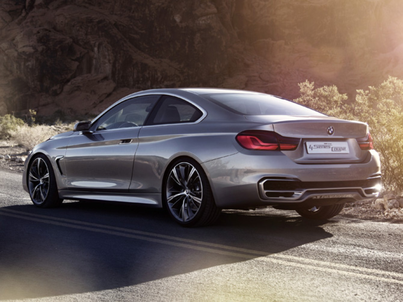 2019 BMW 4 Series Coupe Concept photo - 5