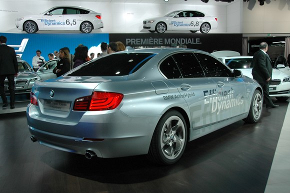 2019 BMW 5 Series ActiveHybrid Concept photo - 5