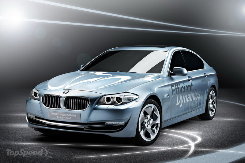 2019 BMW 5 Series ActiveHybrid Concept photo - 6