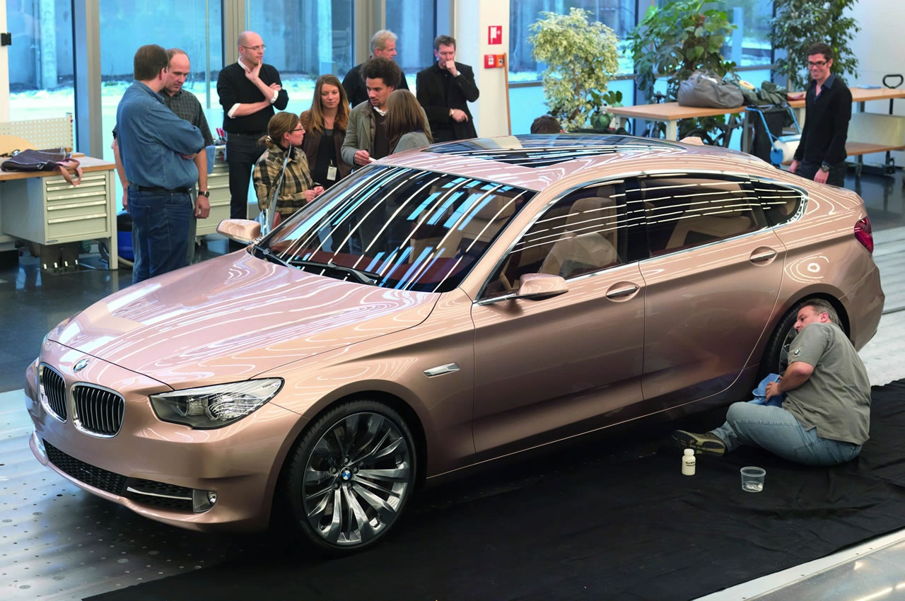 2019 BMW 5 Series Gran Turismo Concept photo - 1