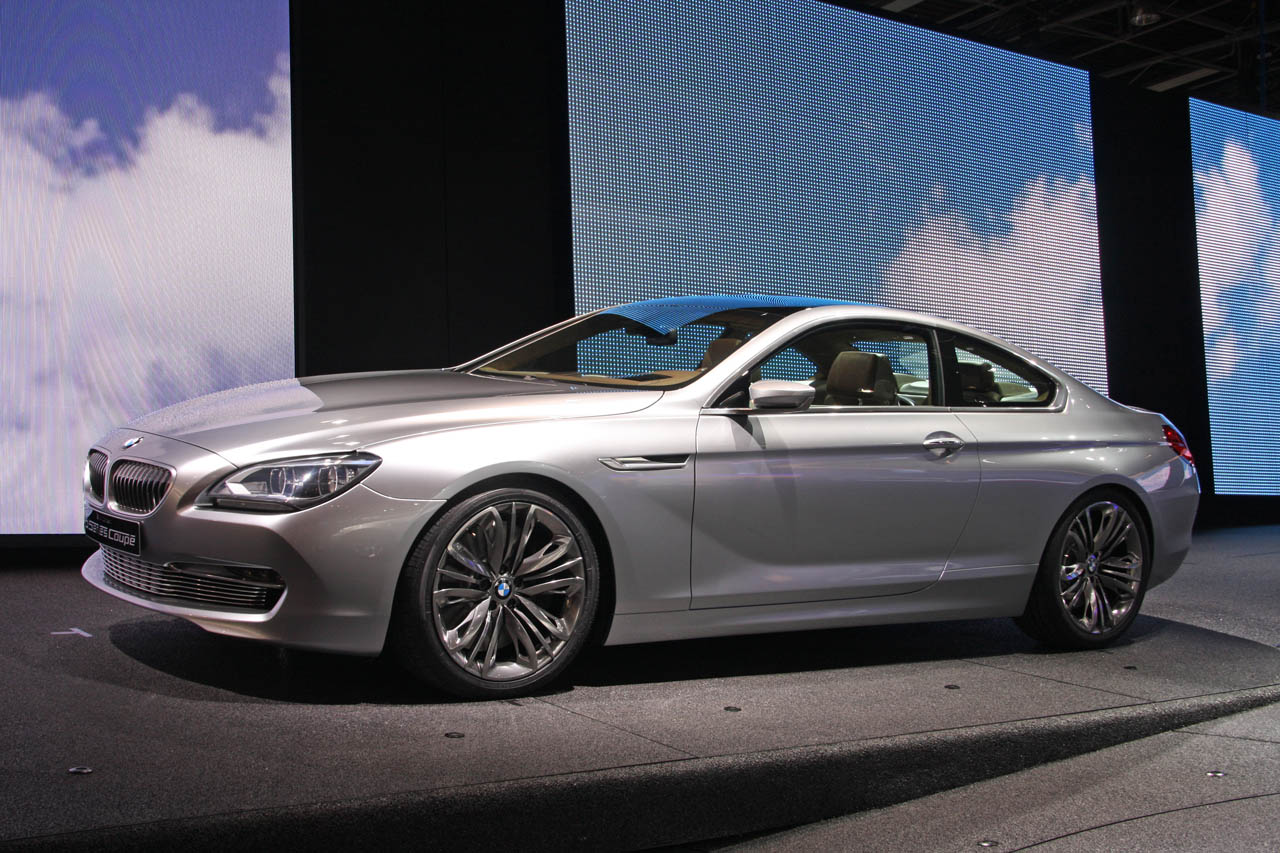 2019 BMW 6 Series Coupe Concept photo - 4