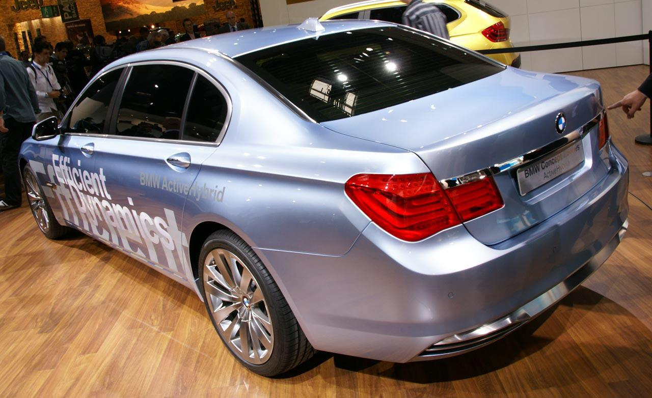 2019 BMW 7 Series ActiveHybrid Concept photo - 4