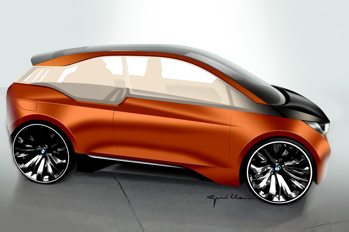 2019 BMW i3 Coupe Concept photo - 3