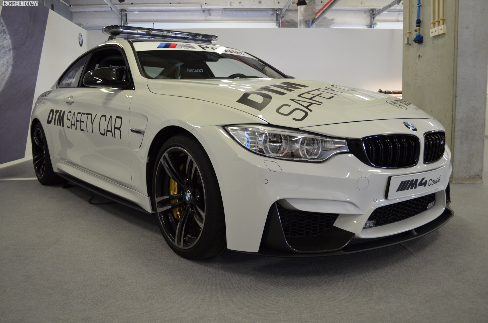 2019 BMW M4 Coupe DTM Safety Car photo - 2