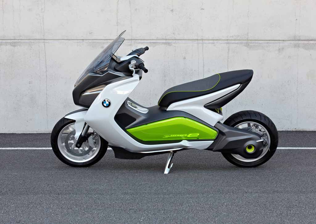 2019 BMW Scooter C Concept photo - 1