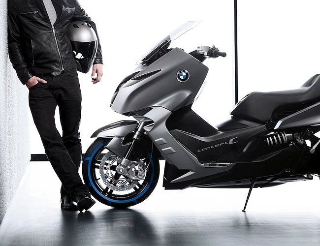 2019 BMW Scooter C Concept photo - 2