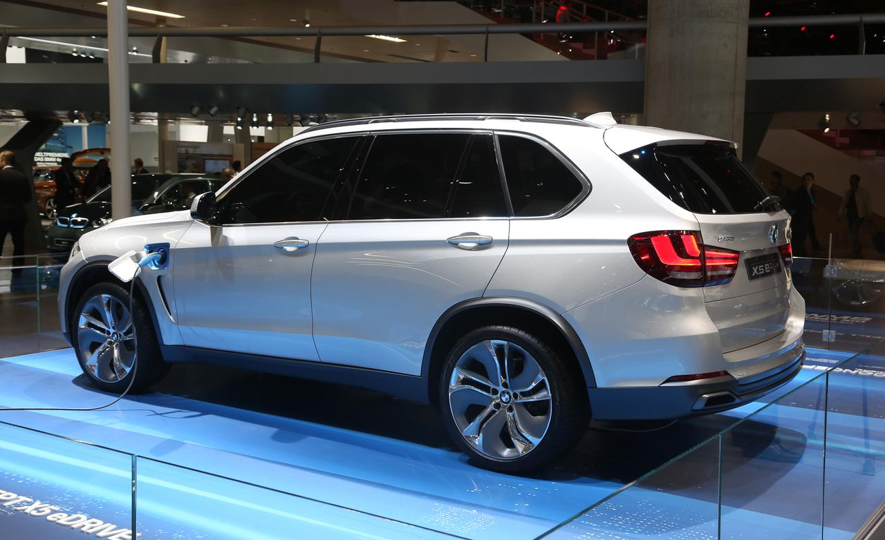 2019 BMW X5 eDrive Concept photo - 1