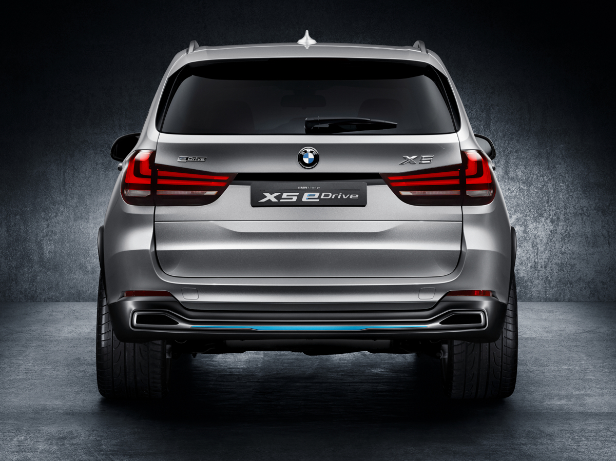 2019 BMW X5 eDrive Concept photo - 2