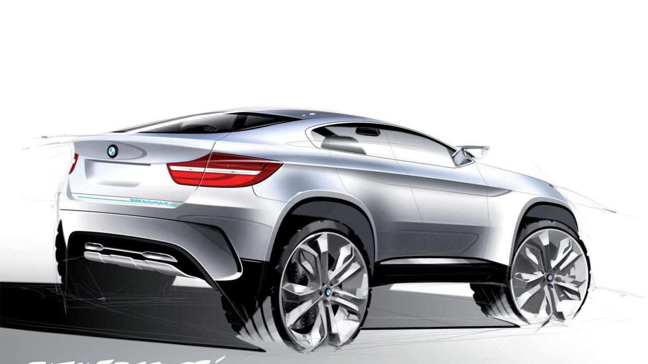 2019 BMW X6 ActiveHybrid Concept photo - 1