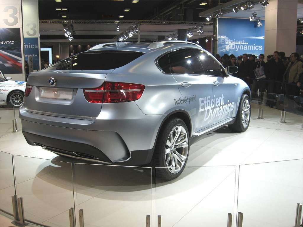 2019 BMW X6 ActiveHybrid Concept photo - 6