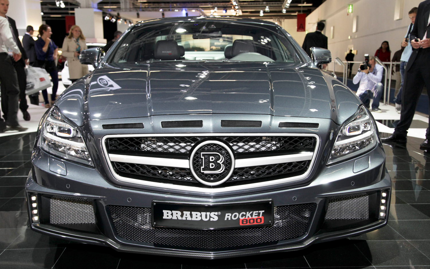 2019 Brabus Rocket Police Car photo - 5