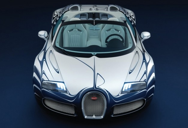 2019 Bugatti Veyron Grand Sport LOr Blanc photo - 2
