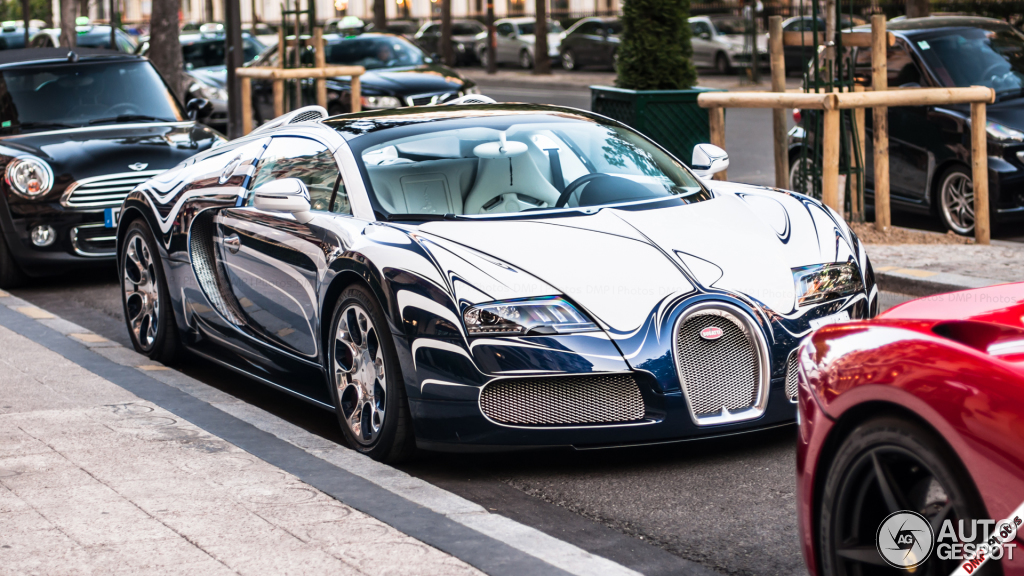 2019 Bugatti Veyron Grand Sport LOr Blanc photo - 4