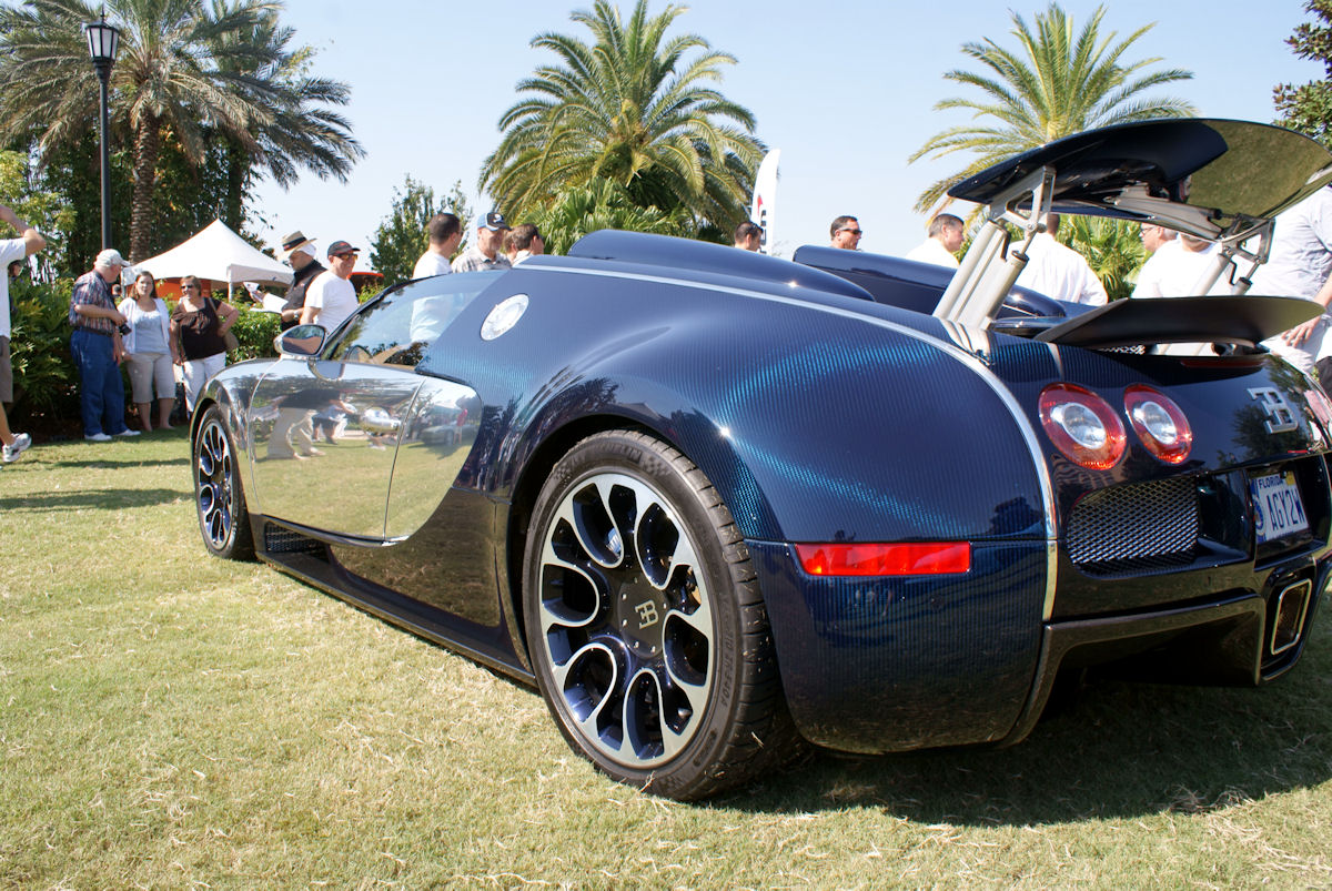 2019 Bugatti Veyron Grand Sport Sang Bleu photo - 1